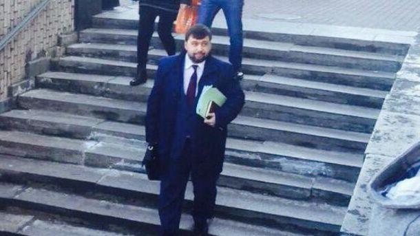 Пушилин в Кремле