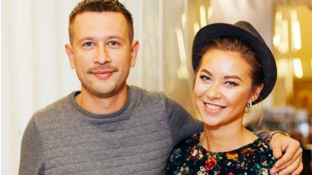 Дмитро Ступка і Поліна Логунова