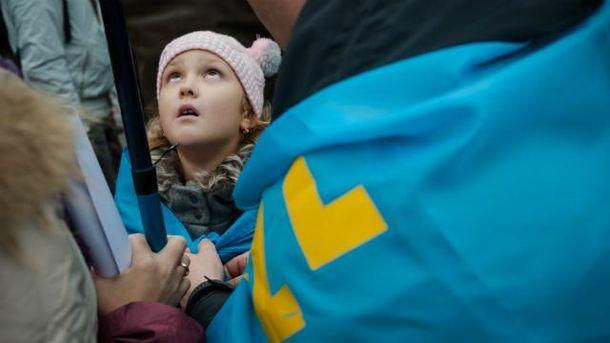 Митинги крымских татар