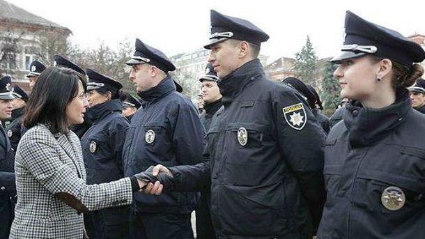 Новая полиция в Тернополе
