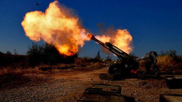 Обстріл з важкого озброєння