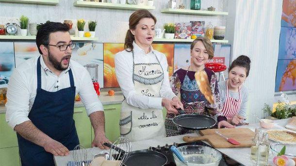 Первая леди готовит
