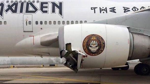 Самолет группы Iron Maiden