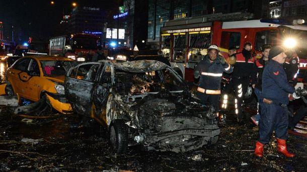 Наслідки вибуху в Анкарі