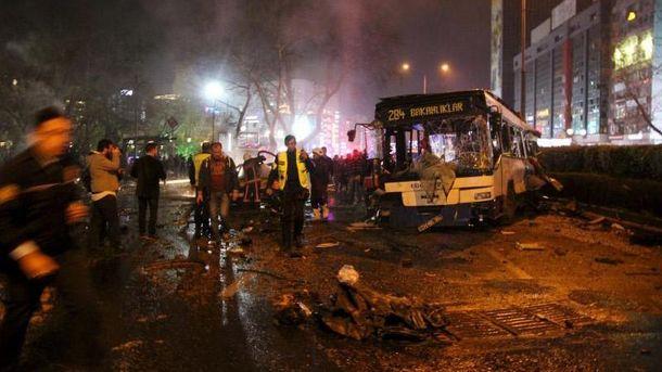 Наслідки теракту в Анкарі