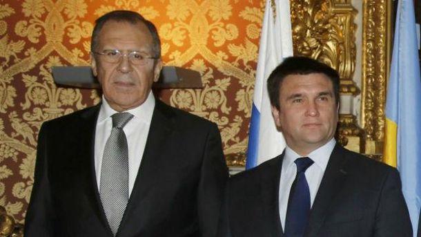 Лавров и Климкин