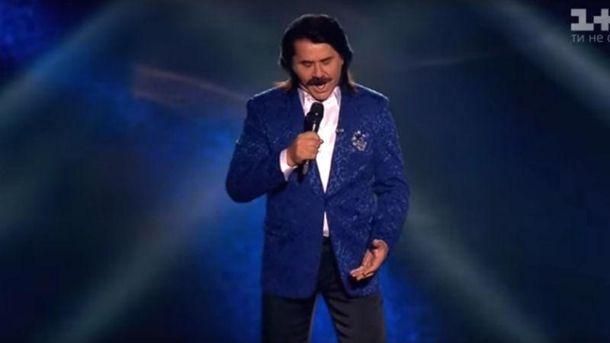 Павел Зибров на шоу