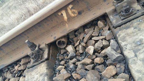 Взрывчатка на железной дороге