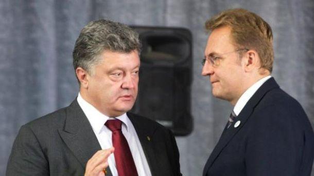 Петро Порошенко, Андрій Садовий