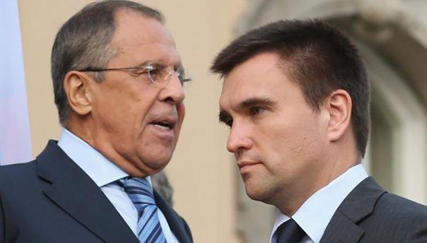 Голови МЗС Росії та України
