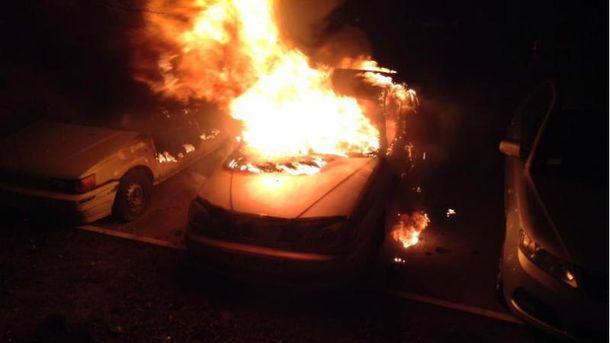 Спалили авто активіста