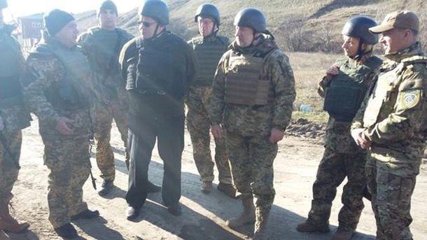 Линас Линкявичус и украинские военные