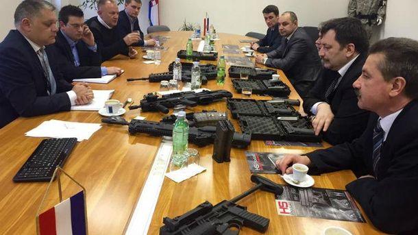 Хорватська зброя