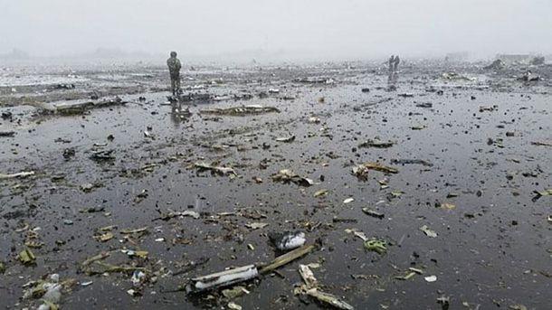 Авиакатастрофа в Ростове