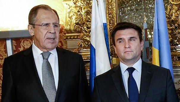 Сергій Лавров і Павло Клімкін