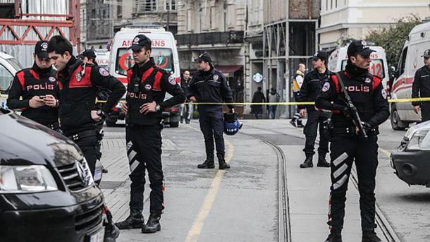 Місце теракту в Стамбулі
