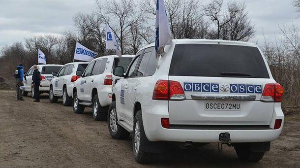 Машини спостерігачів ОБСЄ