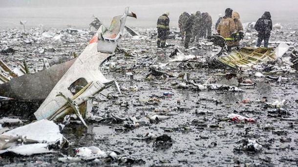 На місці падіння Boeing