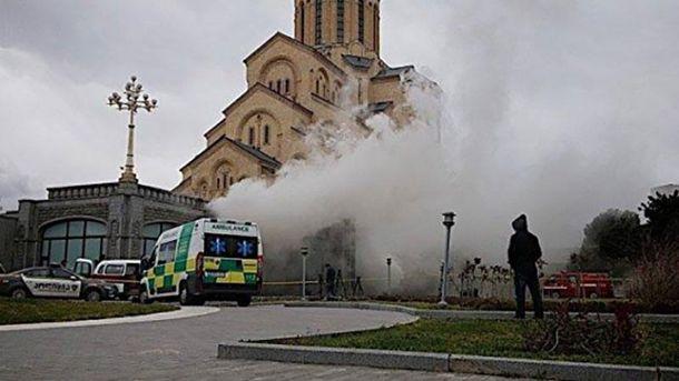 Пожежа в Тбілісі