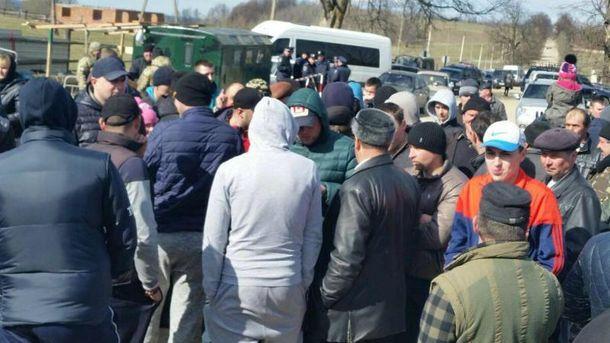 Блокада кордону на Буковині