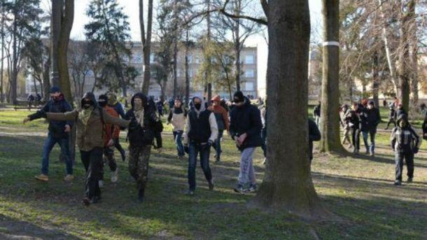 Радикалы во Львове