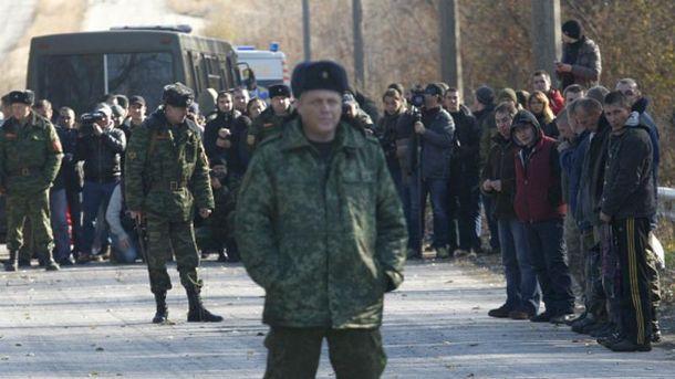 Обмен пленными на Донбассе
