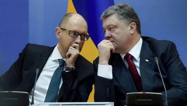 Петр Порошенко и Арсений Яценюк