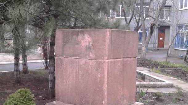 Пропавший памятник