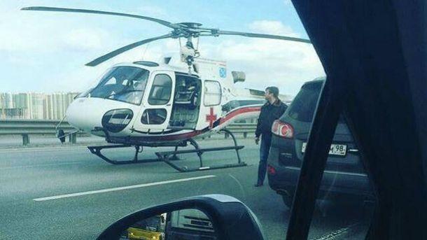 Вертоліт потрапив в аварію у Санкт-Петербурзі