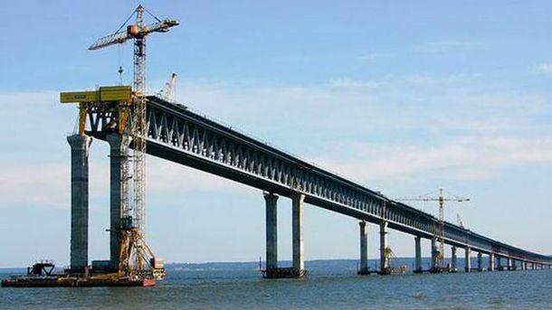 Недобудований Керченський міст
