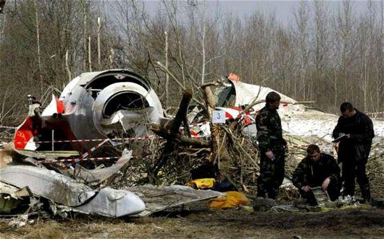Фото з місця авіакатастрофи