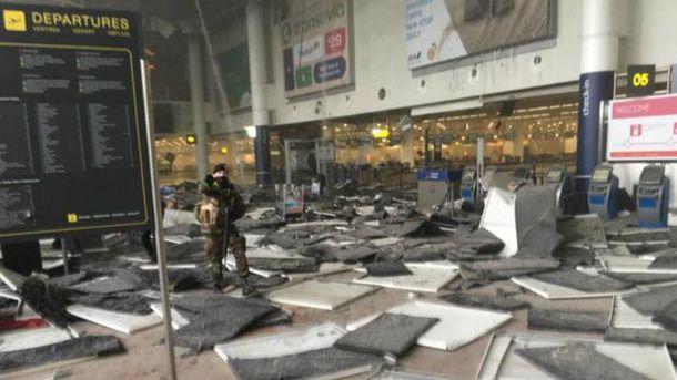 Взрыв в аэропорту Брюсселя