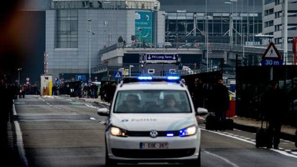 Аэропорт в Брюсселе