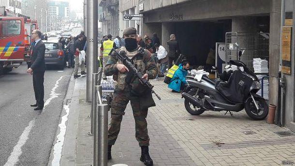 Вибухи у Брюсселі
