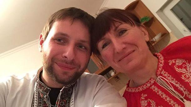 Володимир Парасюк з мамою