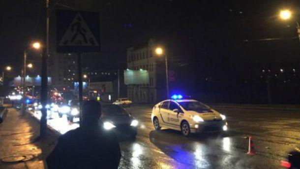 Полиция сбила пешехода в Харькове