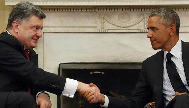 Петро Порошенко і Барак Обама