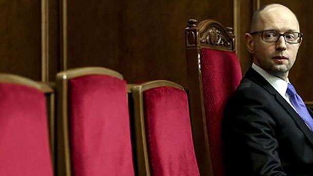 Похоже, Яценюку скоро придется попрощаться с креслом