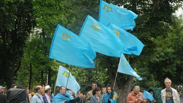 Протесты крымских татар