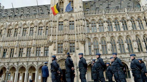 Поліція у Брюсселі