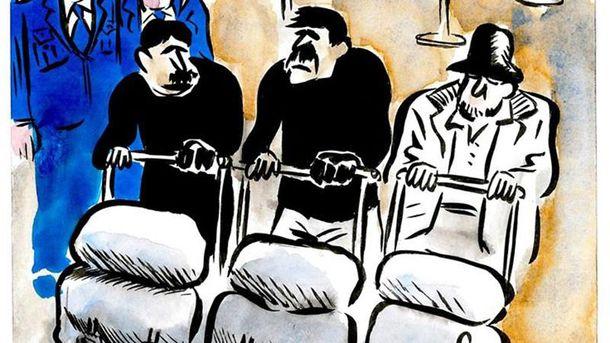 Карикатура Charlie Hebdo