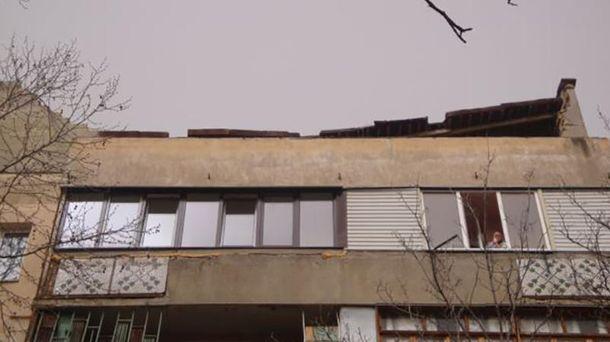 Пошкоджений дах