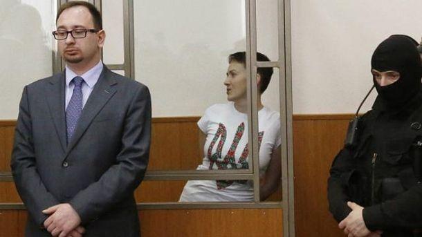 Состояние Савченко резко ухудшилось: организм перестал воспринимать воду