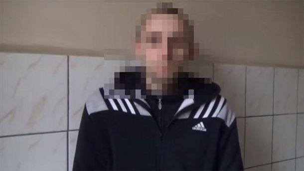 Террорист, задержанный в Краматорске