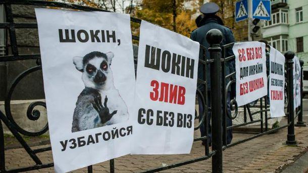 Мітинг за відставку Шокіна