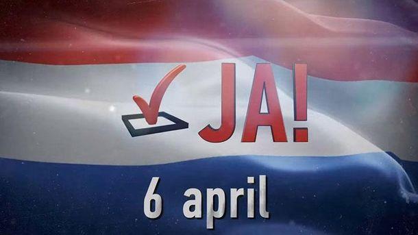 Акция к референдуму в Нидерландах