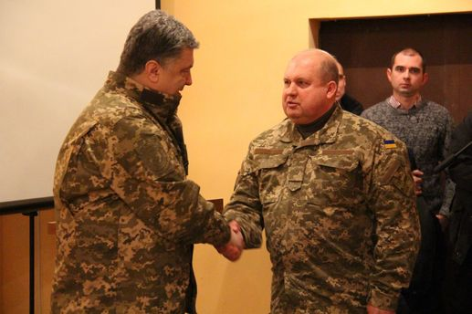 Петро Порошенко і Сергій Попко