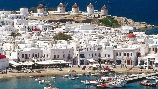 Острів Міконос, Греція