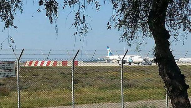 Захваченный самолет