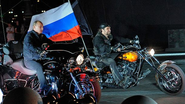 Володимир Путін і Олександр Залдостанов